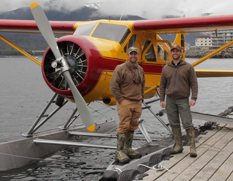 The Bear Necessities, Float plane