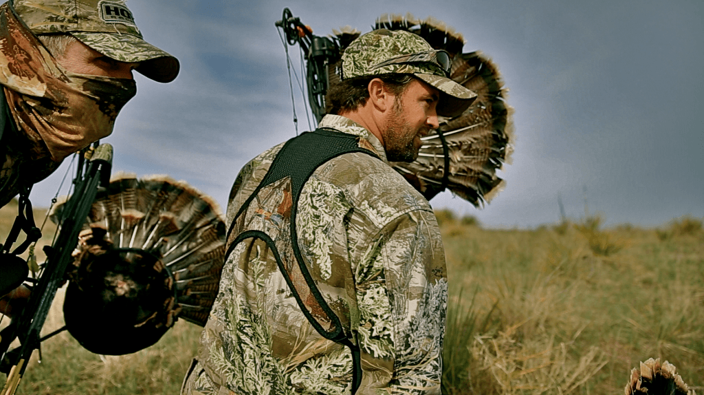 bow hunting turkeys